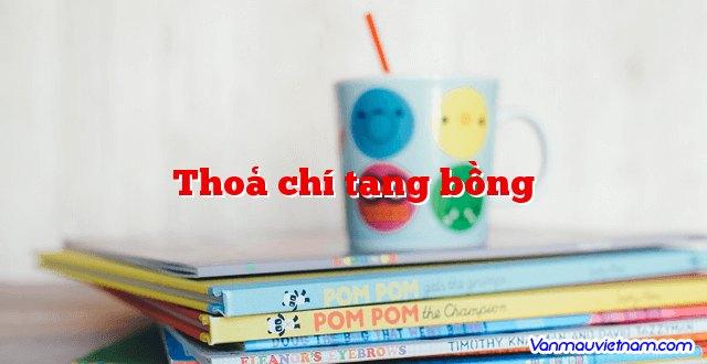 Thoả Chí Tang Bồng