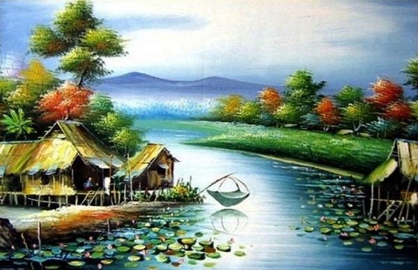 phan tich buc tranh thien nhien trong bai day thon vi da - Phân tích bức tranh thiên nhiên trong bài Đây thôn Vĩ Dạ